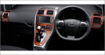 Панель под дерево для Toyota AURIS NZE154H-BHXNK-M (Окт. 2009–Окт. 2010)