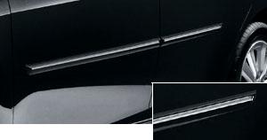 Молдинг хромированный боковой для Toyota AURIS NZE151H-BHXNK (Окт. 2006–Дек. 2008)