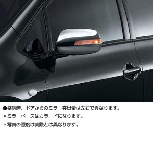 Зеркало с сигналом поворота (хромированное) для Toyota AURIS NZE151H-BHXNK (Окт. 2006–Дек. 2008)
