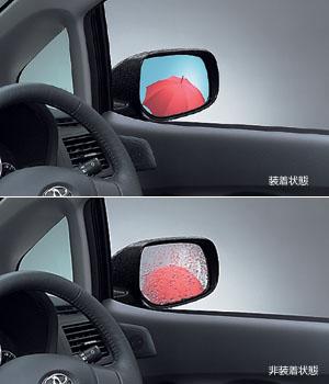 Зеркало голубое с покрытием от дождя для Toyota AURIS NZE151H-BHXNK (Окт. 2006–Дек. 2008)