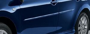 Молдинг защитный боковой (крашенный) для Toyota AURIS NZE154H-BHXNK-S (Окт. 2006–Дек. 2008)