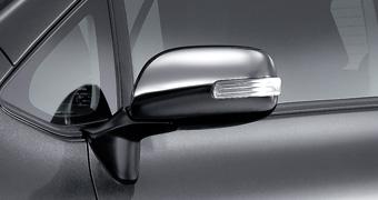 Хромированная крышка зеркала для Toyota AURIS NZE154H-BHXNK-M (Окт. 2011–Авг. 2012)