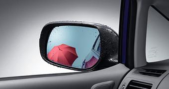 Зеркало голубое с покрытием от дождя для Toyota AURIS NZE154H-BHXNK-M (Окт. 2011–Авг. 2012)