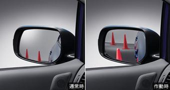 Наклон зеркала для заднего хода для Toyota AURIS NZE154H-BHXNK-M (Окт. 2011–Авг. 2012)