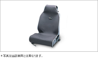 Чехол сиденья (серый) для Toyota AURIS NZE154H-BHXNK-M (Окт. 2011–Авг. 2012)