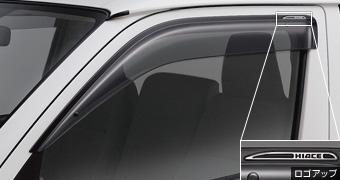 Дефлектор двери (RV широкий тип 1) для Toyota HIACE TRH200V-RHPDK (Июль 2010–Май 2012)