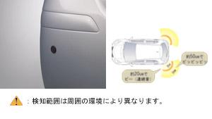 Датчик парковки (задний правый, левый) для Toyota VITZ KSP90-AHXDK (Сент. 2008–Авг. 2010)
