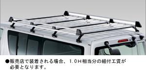 Крепление на крышу (роскошный тип) для Toyota HIACE TRH200K-FMPDK (Авг. 2007–Июль 2010)