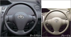 Руль кожа для Toyota VITZ SCP90-AHXEK (Авг. 2007–Сент. 2008)