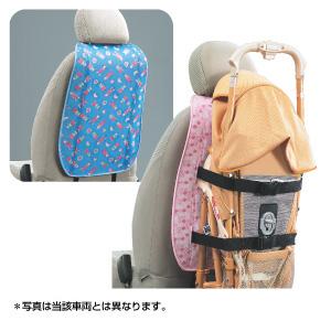 Крепление детской коляски (голубое / розовое) для Toyota VITZ NCP91-AHXEK (Авг. 2007–Сент. 2008)