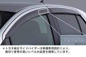 Дефлектор двери (основной) для Toyota VITZ NCP91-AHXEK (Авг. 2007–Сент. 2008)